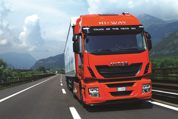 Iveco Stralis On Highway